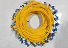 2M 3M Duplex OM2 Fiber Optic Jumper Cable With LC SC FC ST Connector